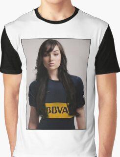Sasha Grey Football Graphic T-Shirt