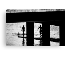 """The Swimmers"" Canvas Print"