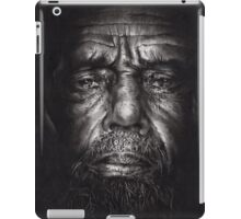 Philip - Drawing - Compressed Charcoal On Paper iPad Case/Skin