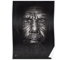 Philip - Drawing - Compressed Charcoal On Paper Poster