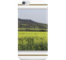 Beautiful flowing canola crop iPhone Case/Skin