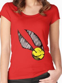 Golden Snitch Women's Fitted Scoop T-Shirt