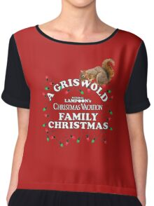 National Lampoon's - A Griswold Family Christmas Chiffon Top