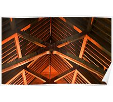 Trusses and Crossbeams Poster