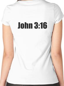 Bible Verse Women's Fitted Scoop T-Shirt