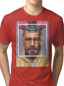 Oil Painting of Heisenberg Tri-blend T-Shirt