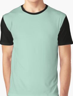 Tranquility (Green/Mint) Color  Graphic T-Shirt