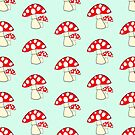 Fairy Toadstools design by Dennis Melling