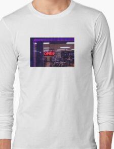 9:54, stop at a diner Long Sleeve T-Shirt