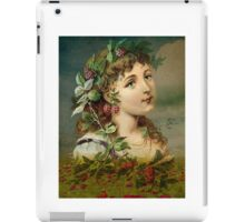 RASPBERRY DELIGHT iPad Case/Skin