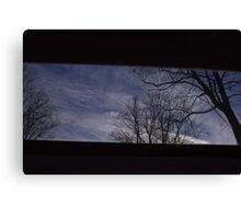 5:03, looking up Canvas Print