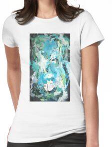 Algae By Kenn. Womens Fitted T-Shirt