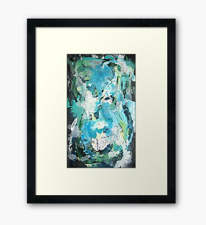 Algae By Kenn. Framed Print