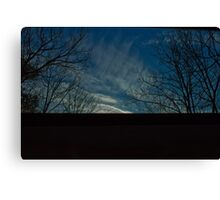 5:02, looking up Canvas Print
