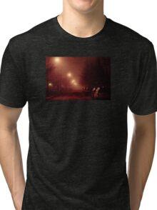 12:01, it's foggy, it's beautiful Tri-blend T-Shirt