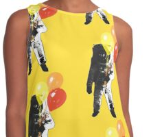 Spaceman with Balloons. Contrast Tank