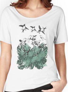 Bird's Jungle Women's Relaxed Fit T-Shirt