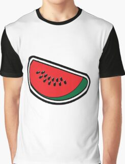 Water Melon Graphic T-Shirt