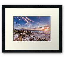 Semaphore Beach, Adelaide South Australia Framed Print
