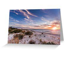 Semaphore Beach, Adelaide South Australia Greeting Card