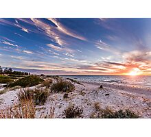 Semaphore Beach, Adelaide South Australia Photographic Print