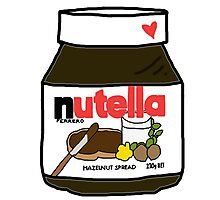 Nutella Photographic Print