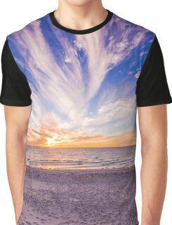 Semaphore Beach, Adelaide South Australia Graphic T-Shirt