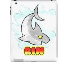 Rin Shark tee iPad Case/Skin