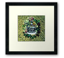 """Vintage Dreams"" -  Royal Crown & Roses Framed Print"