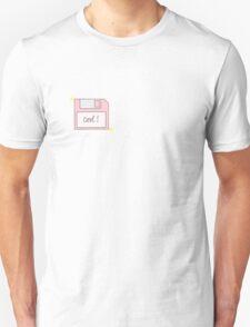 Pink Floppy Disk Unisex T-Shirt