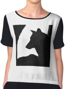 Patient As A Wolf Chiffon Top