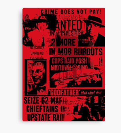 mafia history Canvas Print