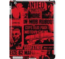 mafia history iPad Case/Skin