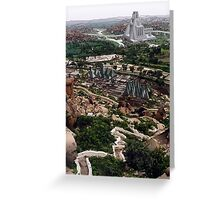 The Future Past of Hampi Greeting Card