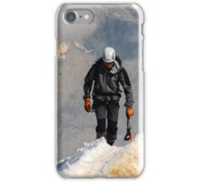 Mountaineer summit iPhone Case/Skin