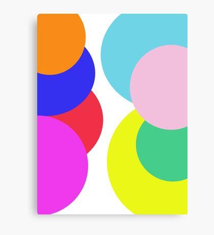 A Little Bubble Colour Canvas Print