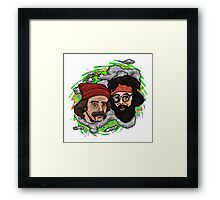 Double Stoner Framed Print
