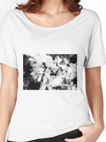 Forsythia in BW Women's Relaxed Fit T-Shirt