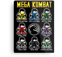 Mega Kombat Metal Print