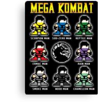 Mega Kombat Canvas Print
