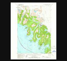 USGS TOPO Map Alaska AK Mount Fairweather B-3 357586 1961 63360 Unisex T-Shirt
