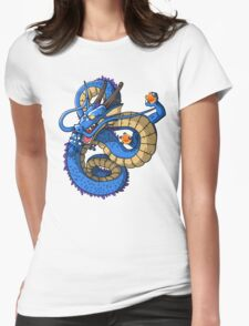 Blue Shenron - Dragon Ball Womens Fitted T-Shirt