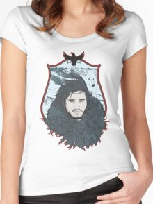 game of throne Women's Fitted Scoop T-Shirt