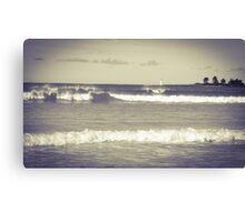Port Fairy beach scene Canvas Print