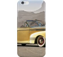 1941 Chevrolet Custom Deluxe Converible Coupe iPhone Case/Skin