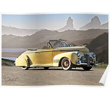 1941 Chevrolet Custom Deluxe Converible Coupe Poster