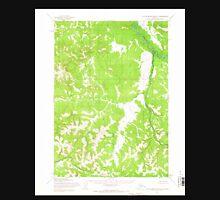 USGS TOPO Map Alaska AK Taylor Mountains D-2 359873 1954 63360 Unisex T-Shirt