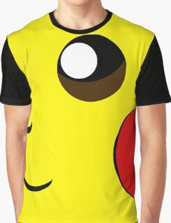 Cartoon yellow face Graphic T-Shirt