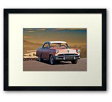 1952 Mercury Monterey 2-Door Hardtop Framed Print