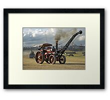 "Burrell 6nhp Road Locomotive No.3166 ""Joe Chamberlain"" Framed Print"